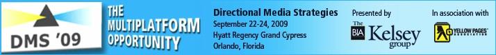 Directional Media Strategies 2009